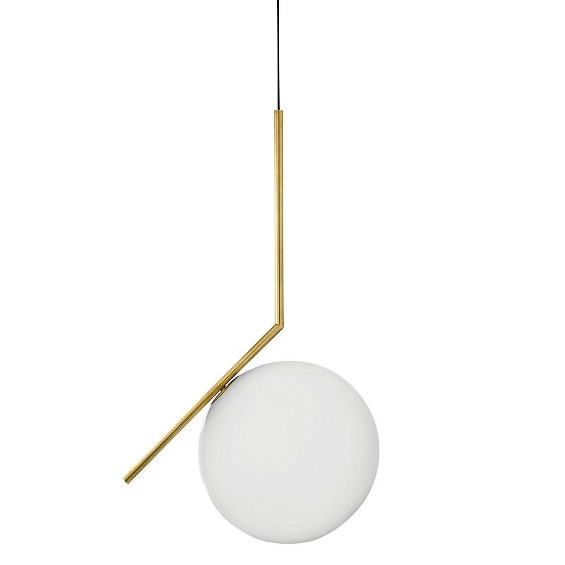 Luminaria Avize Modern LED Pendant Lights For Dining Room Living Bedroom Hanging Metal Glass Bubble Nordic