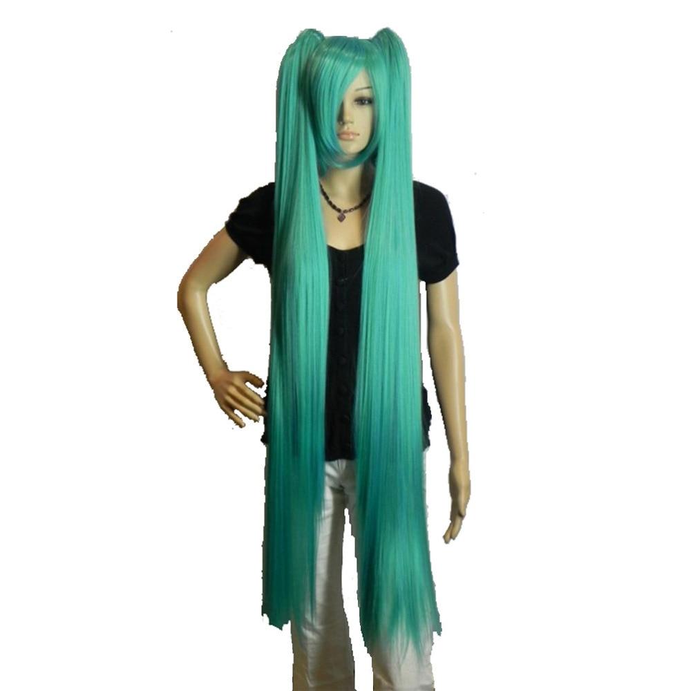 Strongbeauty peruca cosplay feminino duplo rabo de