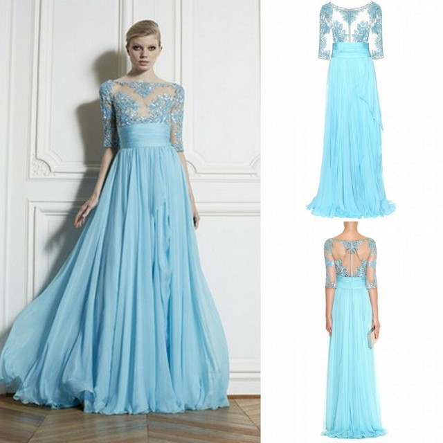 2015 Long Prom Dress Buy One Get One Murad Sequin Prom Dresses See ...