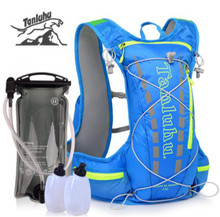 TANLUHU 15L Outdoor Hydration Backpack Rucksack Bag For 2L Water Bladder Hiking Camping Running Marathon Race Sports Bags