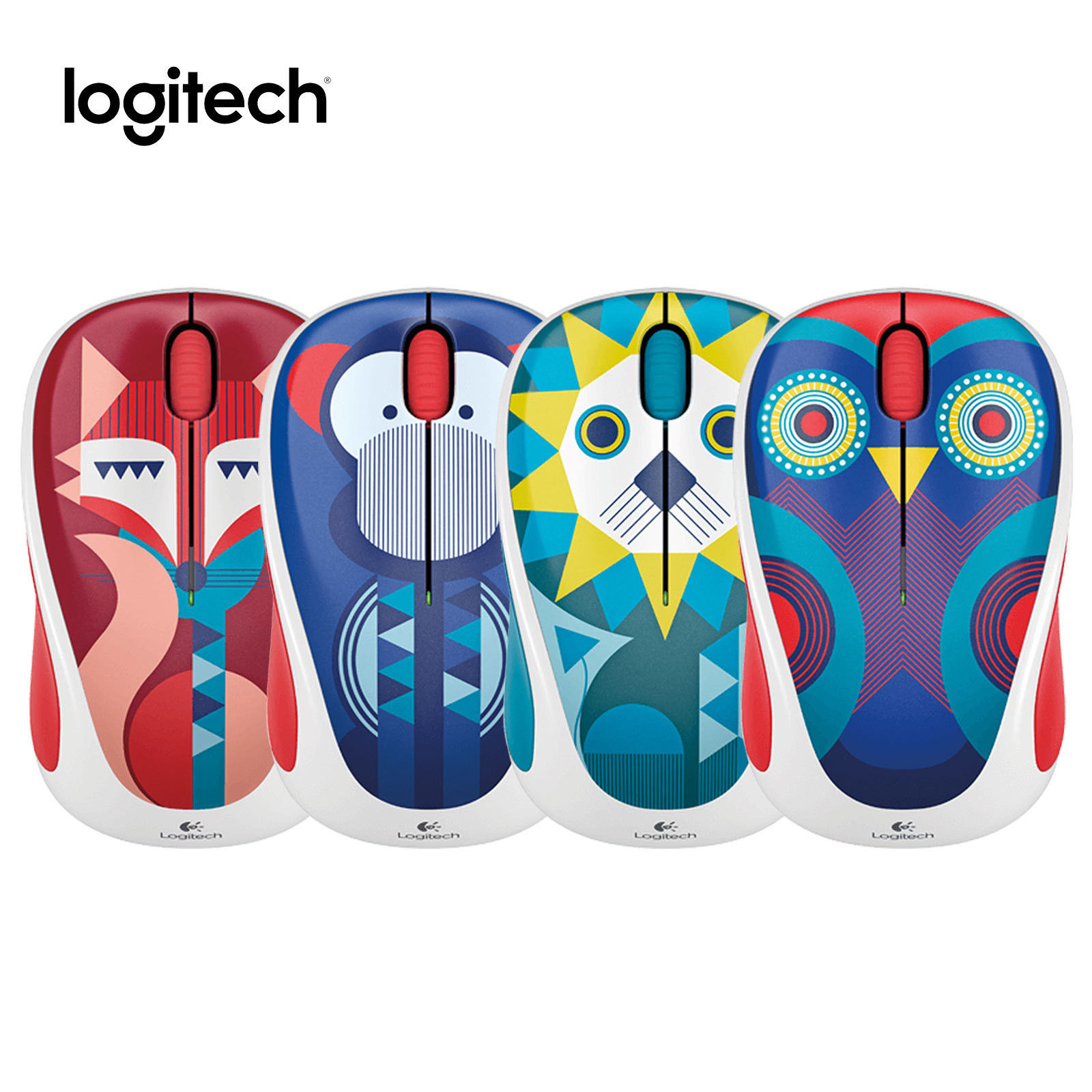 цена на Logitech Hello Happy Mouse Wireless Mouse M238 Collection - Francesca Fox