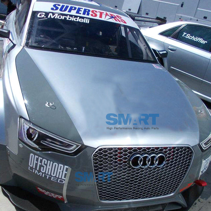 RS5 Front Euro Race Sportback Gunmetal Mesh Grille For