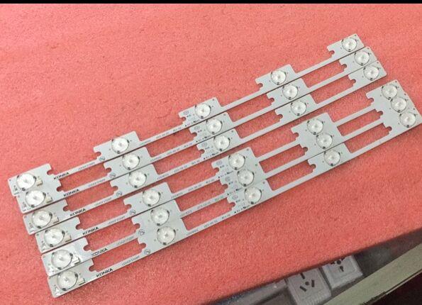 375mm LED Backlight Lamp Strip 5leds For Konka LCD TV LED42F3700NF 35018500 35018499 35018501 35018502 High Quality