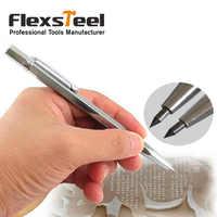 Flexsteel 1PC Diamond Metal Engraving Pen Tungsten Carbide Tip Scriber Pen for Glass Ceramic Metal Wood Carving Hand Tool