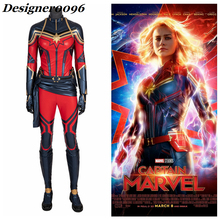 Cosplay women marvel superhero The Avengers: Endgame Captain Marvel costume halloween costumes for tights suit new