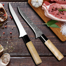 Liang Da Stainless Steel Kitchen Professional Boning Knife Slaughter House Bleeding Tool Splitting Meat Fishing Cleaver