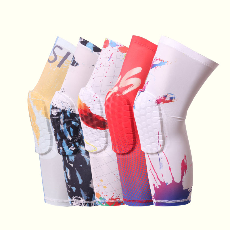 2018 Sport Safety Soccer Football Basketball Knee Pads Wraps Leg Sleeve Kneepad Quick Dry Knee Support Protection Sports bandage
