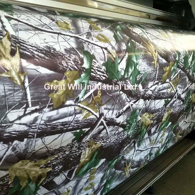 Realtree Camo Vinyl Wrap Mossy Oak Tree Leaf Camouflage