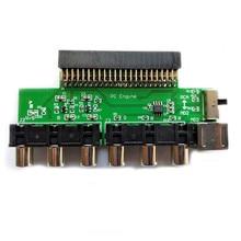 RGBS การ์ด Booster RGBS เอาท์พุทสัญญาณเอาต์พุตเสียงสำหรับ NEC PCE PC เครื่องยนต์คอนโซลสำหรับ Grafx ทีวี AC RGBS conveter