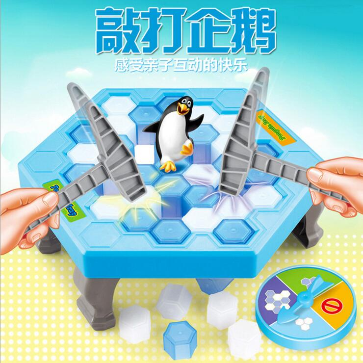 Ice Breaking Save the Penguin Board Ice Hammer Game For Kids Boys Girls Family Game Who Make The Penguin Fall Off Will Lose Game penguin ice breaking save the penguin great family toys gifts desktop game fun game who make the penguin fall off lose this game