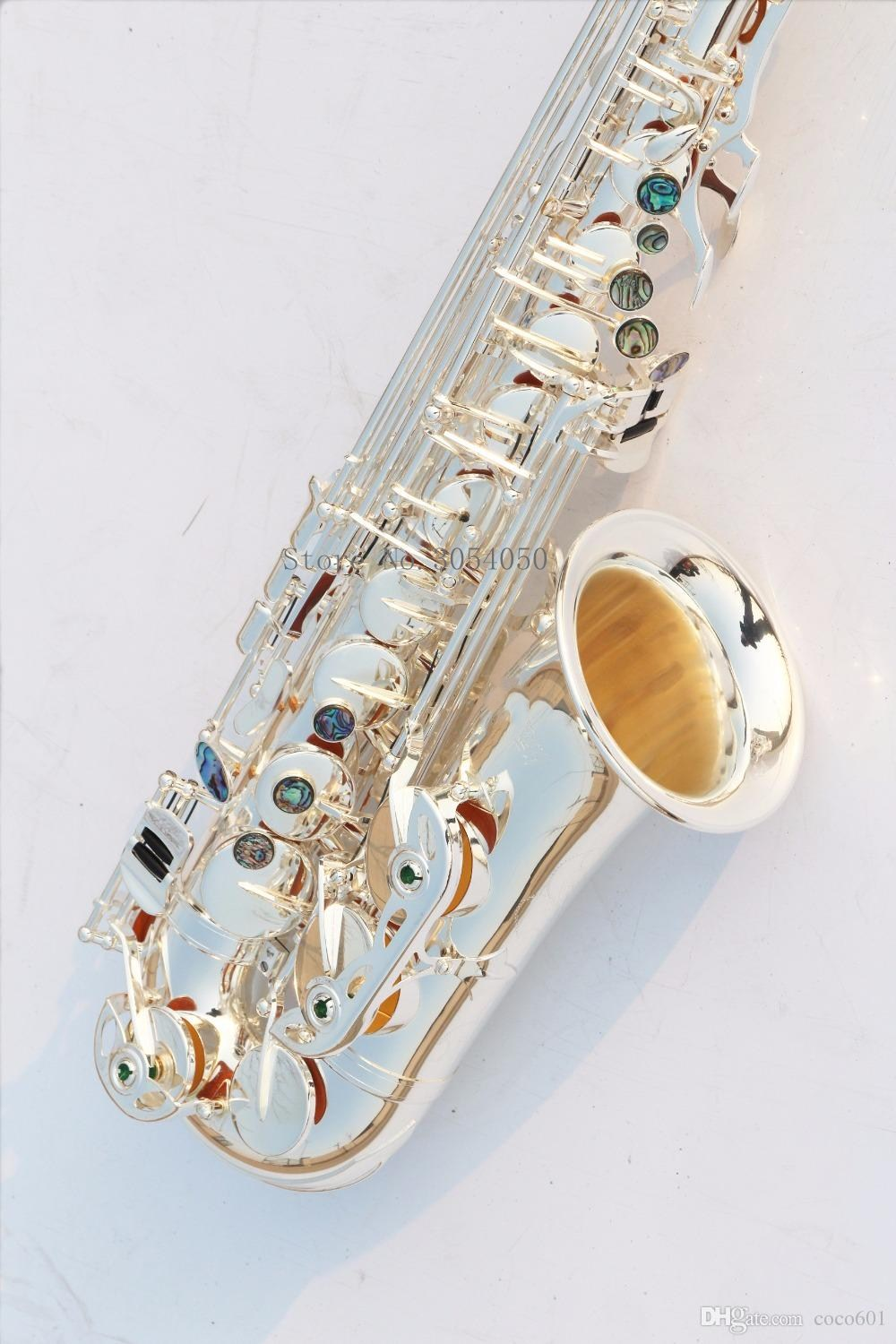 New Japanese YANAGISAWA New A-902 E-flat Alto saxophone Music Instrument Silver Plated Sax Professional level Free Shipping free shipping new high quality tenor saxophone france r54 b flat black gold nickel professional musical instruments
