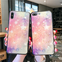 Luxury Gold foil Starry Sky Case For OPPO F9 A7X R15X K1 A3 A5 A59 A59S A79 A7 A9 Reno R17 R9S R11 R11S Cover Glitter coque женское бикини sky 6613 r17