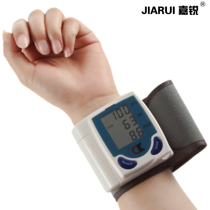 Blood Pressure Monitor Automatic Sphygmomanometer Tensiometros Digital Pulse Oximetro Blood Pressure Meter Arm Wrist Blood стоимость