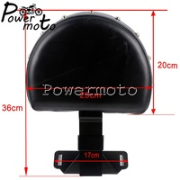 Motorcycle Black Seat Cushion For 2014 UP Indian Chief/Chieftan Quick Release Driver Backrest