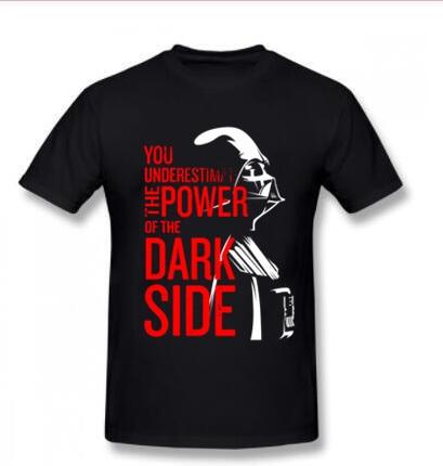 Star Wars T Shirt Darth Vader Dark Side Power Movie Tshirts for Men Star Wars Yoda Last Jedi Battle T-Shirt Starwars Print 3D GH action figure pokemon