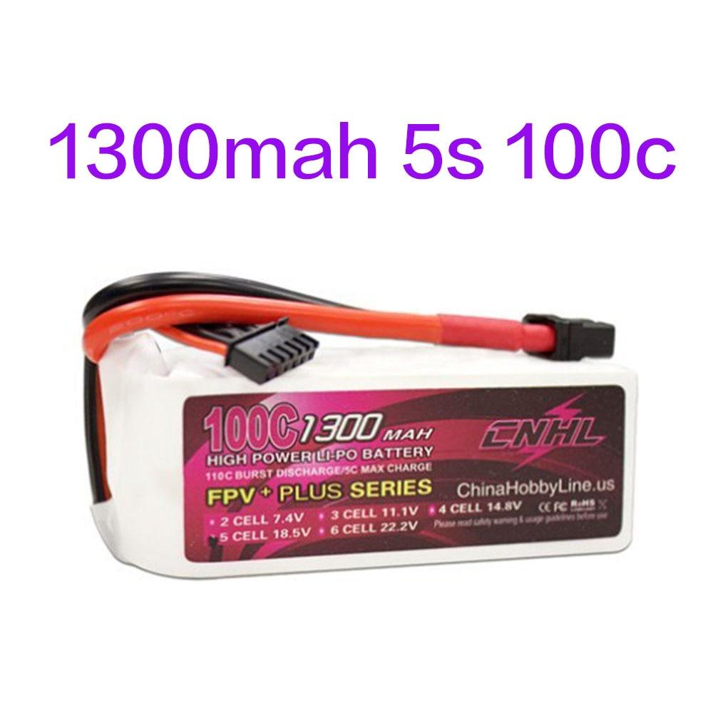 CNHL Li-Po 1300 mAh 18.5 V 5S 100C (Max 200C) Lipo Batterie Pack