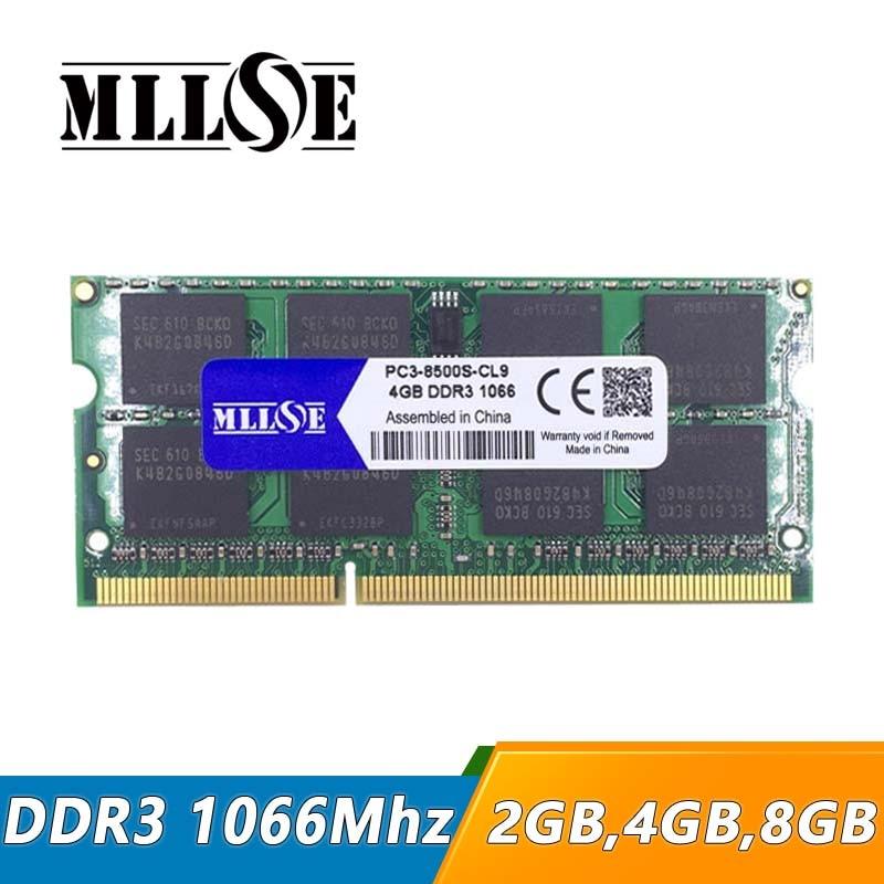 PC3-8500S  DDR3 1067MHz SODIMM 204 PIN APPLE MACBOOK LAPTOP RAM 2 x 1GB 2GB