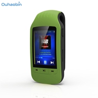 Ouhaobin Fashion Mini Clip USB Bluetooth MP3 Player Support Micro SD TF Card Music Media Sport Pedometer Music Player Oct12
