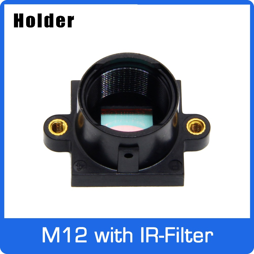M12 Mount Holder PC+30%GF With 650nm IR Filter For M12 Lens Support 20mm Hole Distance PCB Board Module Or CCTV Camera