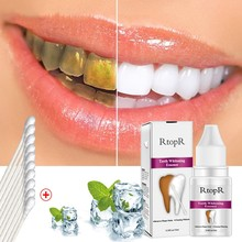 Teeth Whitening Essence Oral Hygiene Cleaning Serum Effective Remove Plaque Stains Tooth Bleaching Dental Tool Teeth Cleaning dental children removable deciduous teeth model permanent tooth alternative display studying teaching tool
