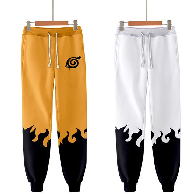 Naruto Printed Pencil Pants