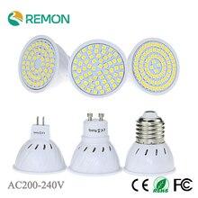 LED SMD 2835 E27 GU10 MR16 48led 60led 80led Bulb Lamp Lamparas LED AC220V Spotlight lampada de led Cold / Warm White