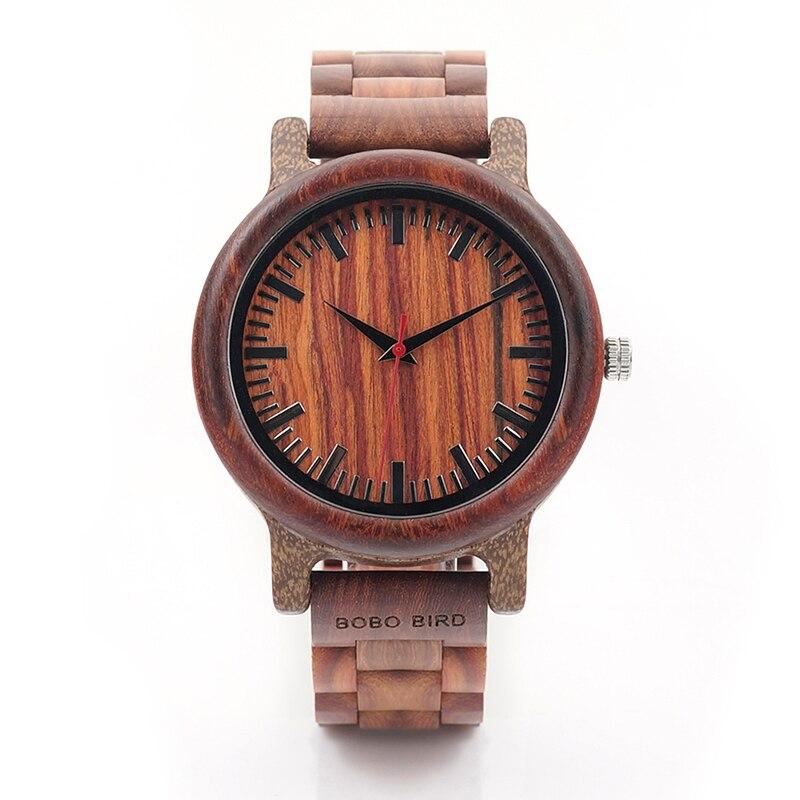 BOBO BIRD Μάρκα M17 Όλα τα ξύλινα ρολόγια - Ανδρικά ρολόγια - Φωτογραφία 2