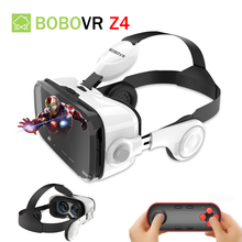 Bobovr Z4 Google VR Carboard Headset 3D Glasses Box Virtual Reality Goggles Gerceklik VR For Smartphone Helmet Headset Lens