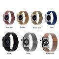 Banda de aço inoxidável luxo para apple iwatch 38/42mm pulseira pulseira cinto cinta para apple watch sport edition + película protetora