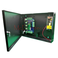 Two Doors Access Control Panel +12V5A Power Supply +Metal Box High Quality Wiegand Tcp/ip Access Control System with Alarm Panel