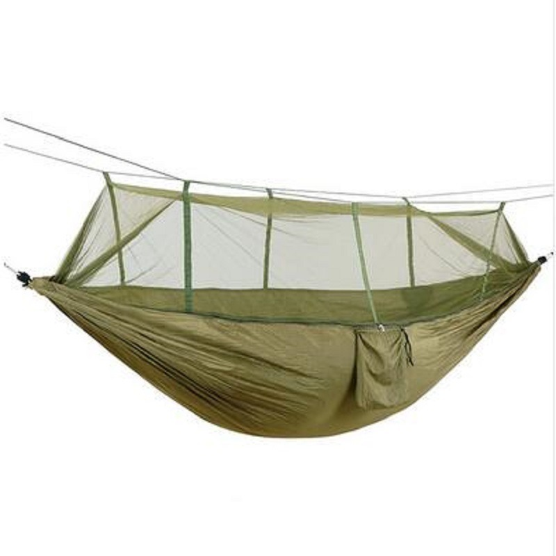 Camp Sleeping Gear Portable Outdoor Hammock 280x 80cm 120 Kg Load-bearing Garden Sports Home Travel Camping Swing Canvas Stripe Hang Bed Hammock