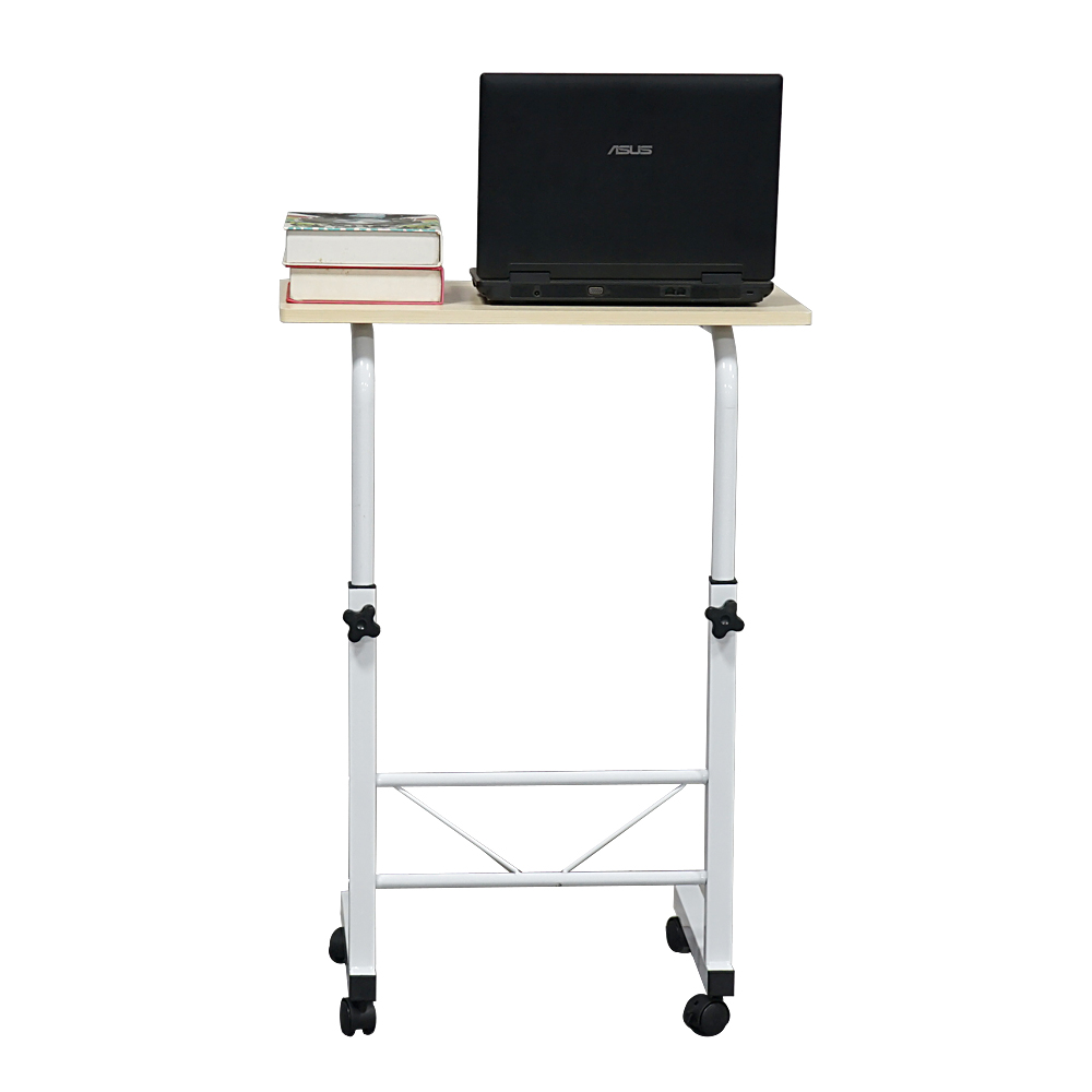 Removable E1 15MM Chipboard & Steel Side Table Wood Color S