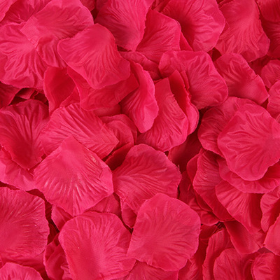 2000pcs/lot Wedding Party Accessories Artificial Flower Rose Petal Fake Petals Marriage Decoration For Valentine supplies 7