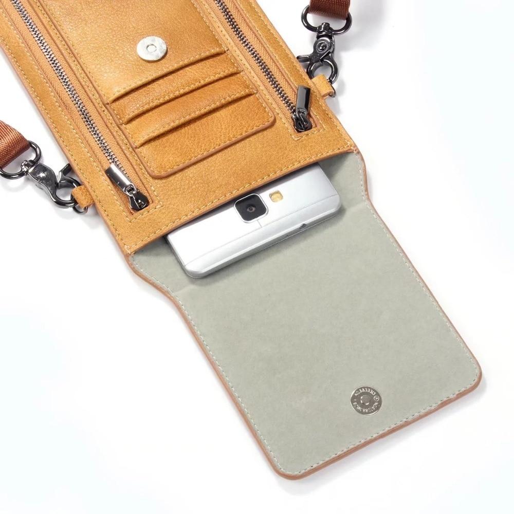 FULAIKATE Litchi Universal τσάντα ώμου για iPhone6s 7 - Ανταλλακτικά και αξεσουάρ κινητών τηλεφώνων - Φωτογραφία 6