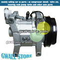 new air conditioner compressor for car subaru forester 4grooves for forester ac compressor 12v