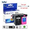 Befon 2Pcs Ink Cartridge For HP302xl 302 F6U68AE F6U67AE Compatible HP Deskjet 1110 1111 1112 2130