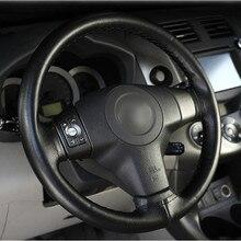 DIY Steering Wheel Cover (Microfiber leather – 4 colors – Tutorial video included)