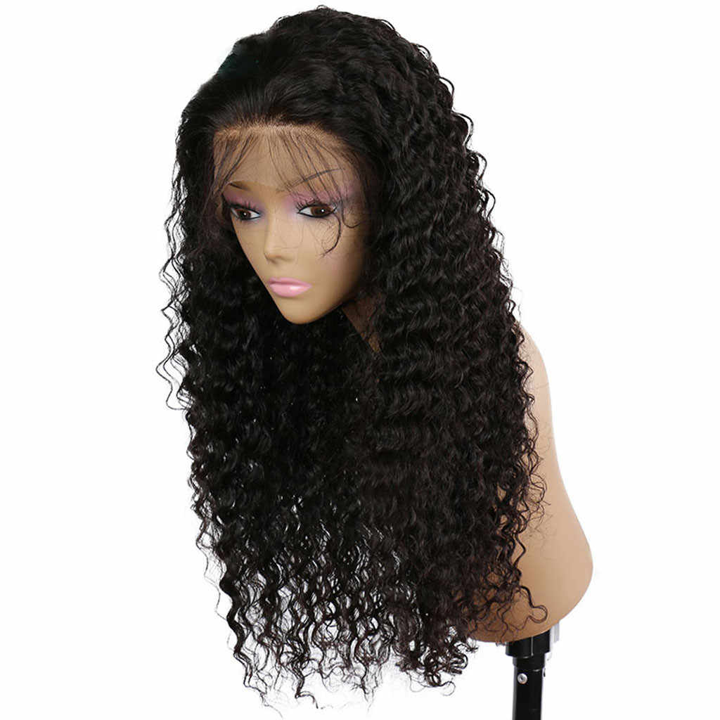 Detail Feedback Questions about MUQGEW 2019 New Arrival Women Wigs Curly  Wig Glueless Full Lace Wigs Black Women Indian Remy Human Hair Lace Front  Hot Sell ... a623a45037