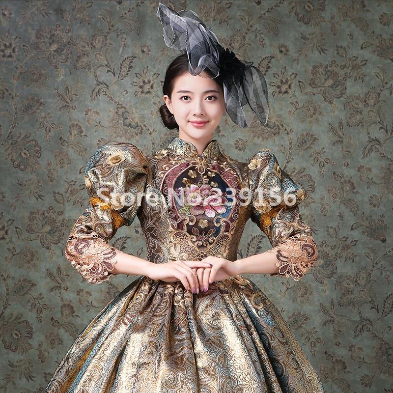 Marie Picture Gothique Théâtre Costumes As Robe Vacances Siècle Mascarade 18th De Antoinette Femme wqg1HYa