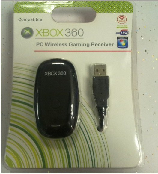 <font><b>PC</b></font> <font><b>Wireless</b></font> <font><b>Controller</b></font> Gaming USB Receiver <font><b>Adapter</b></font> For Microsoft <font><b>XBOX</b></font> <font><b>360</b></font> For Xbox360 Windows XP/7/8/10 image