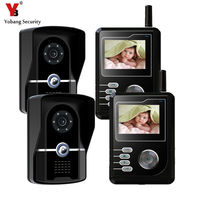 2 4G 2 4 TFT Wireless Video Door Phone Intercom Doorbell Home Security Camera Monitor With