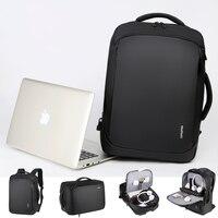 Mens Backpack Male Business Laptop 17'' 15.6 Inch Bag Outdoor Travel USB Charging Mochila Manager Smart Anti Theft Backpacks Bag