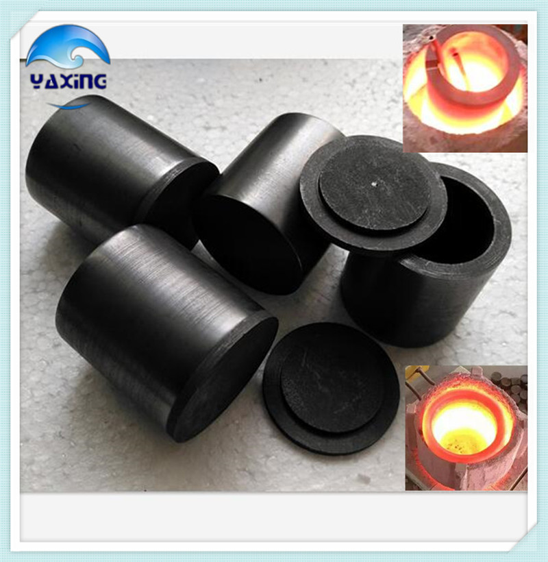 With cap Dia100x H100mm high purity graphite crucible used for Precious metals smelting special corrosive substances analysis 1000g 98% fish collagen powder high purity for functional food
