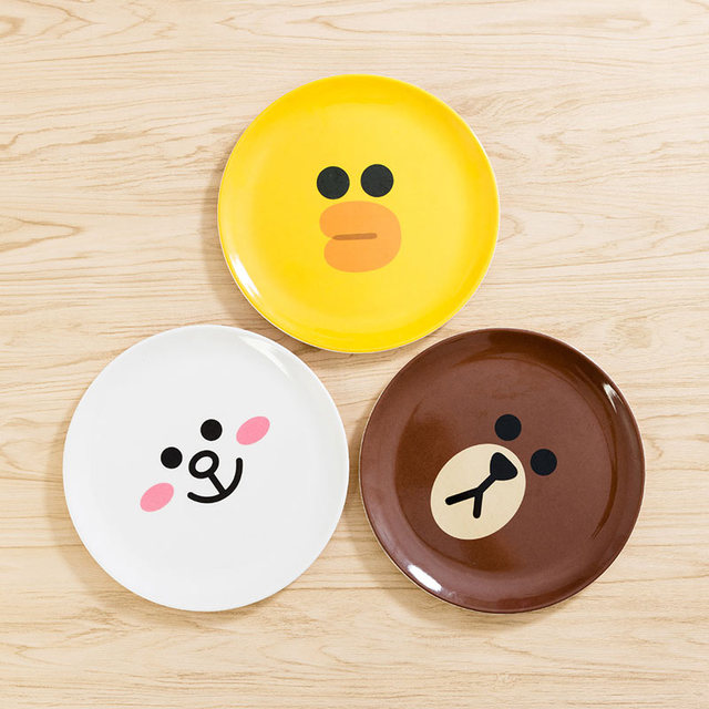 Baby Dishes Adult Children\u0027s Tableware Baby Food Supplement Cartoon Melamine Plates Food Grade Dinnerware Photo Props & Baby Dishes Adult Children\u0027s Tableware Baby Food Supplement Cartoon ...
