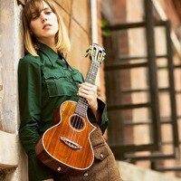 Высокого качества 26 твердого дерева акации классический Гавайские гитары укулеле тенор отсутствует Угол Гавайские гитары укулеле Гавайи