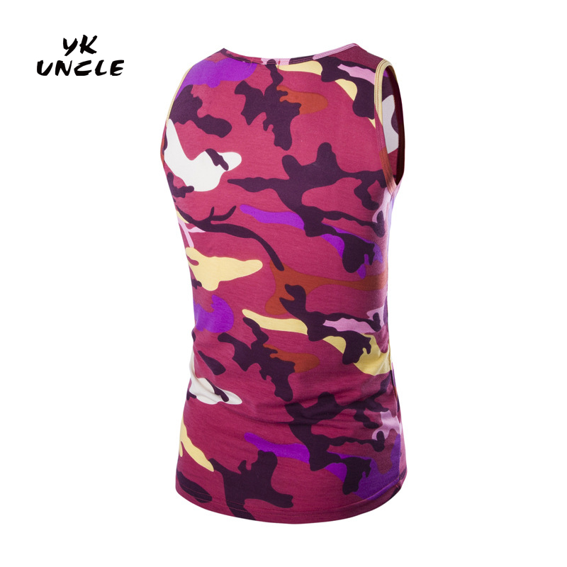 887dab19d52 Camouflage Clothing 2016 Summer Men Women Army Camouflage Tank Top Casual  Slim Fitness Tops Mens Sleeveless Army Vest