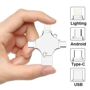 Image 2 - Ingelon USB Flash 256GB Pendrive 128GB Photostick Extra OTG Cle USB Dropship DIY Custom Music Disk On Key 256 GB for USB iphone