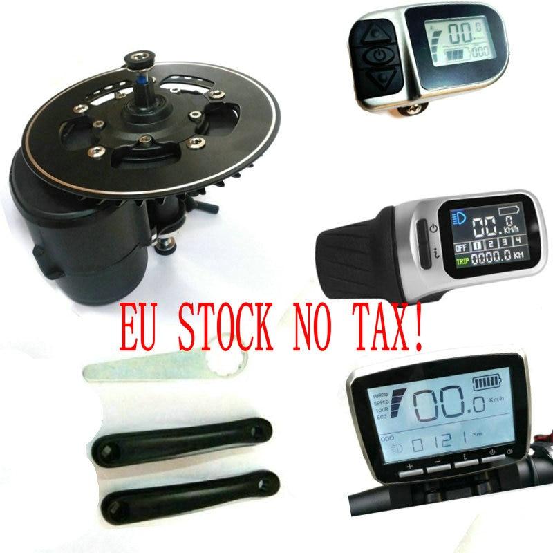 Nenhum imposto DA UE 36/48 V/52 V 250 w/350 w/500 W/750 W TONGSHENG TSDZ2 Central Do Motor Meados de Carro Kit eBike Do Motor Do Sensor De Torque