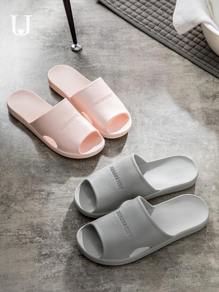 Youpin Jordan&Judy Bathroom Slippers Men and Women Summer Home Indoor Soft Bottom Bath Slip Couple Home Sandals(China)