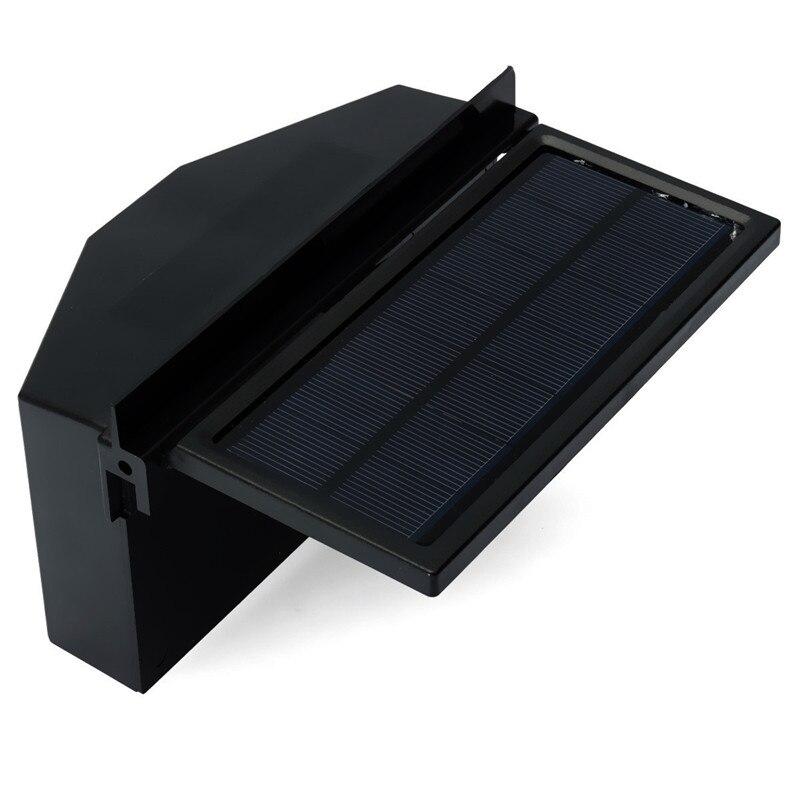 Solarbetriebene Auto Fenster Ventilator Auto Ventilator Air Vent ...